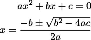 TeXclipで生成した数式の例